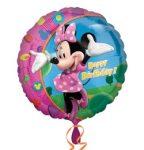 """Szülinapi fólia lufi 18"""" 45cm Happy Birthday, Minnie Mouse , 1779701"""
