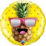 """Fólia lufi 18"""" 45cm pineapple, ananász, 57271"""
