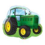 "Óriás fólia lufi 34""  86cm traktor, 16468, héliummal töltve"
