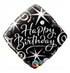 """Szülinapi fólia lufi 18"""" 45cm Happy Birthday, 29988"""