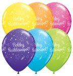"""Szülinapi latex lufi 11"""" 28cm 6db Boldog születésnapot!, 48573"""