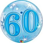 """Számos Bubbles szám lufi 22"""" 56cm 60 Héliummal töltve, 48449"""