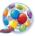 """Mintás Bubbles lufi 22"""" 56cm Lufik Héliummal töltve, 15606"""