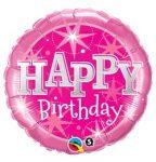 "Szülinapi lufi 36"" 91cm óriás fólia Happy Birthday, 43172"