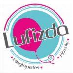 """Esküvői fólia lufi 18"""" 45cm Just Married, 15816, héliummal töltve"""