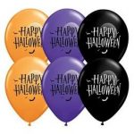 "Halloween latex lufi 11"" 28cm"