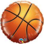 "Kosárlabda, basketball fólia lufi 18"" 45cm, 21812"