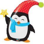 "Óriás fólia lufi 35"" 89cm Pingvin, 44232"